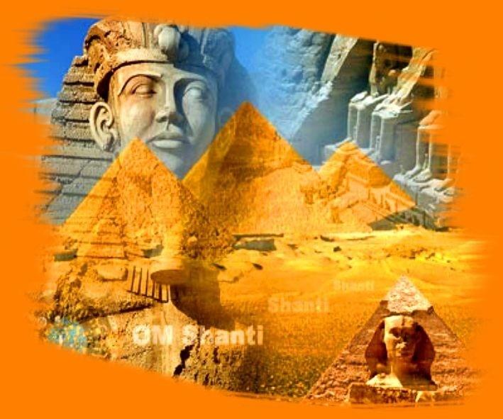Египет. Мегалит - пирамида.