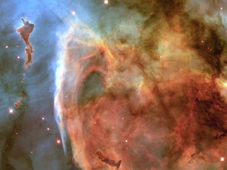 Красота, подаренная телескопом Хабл.