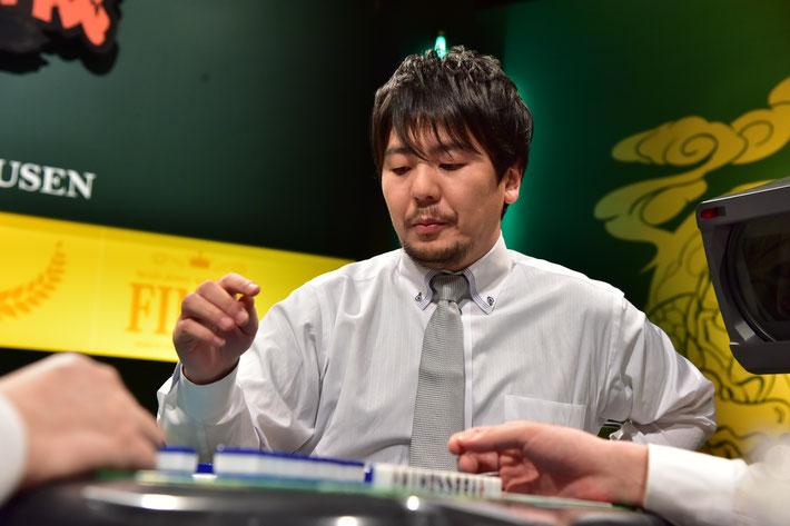 麻雀IQ220の勝又健志よもやの予選敗退。