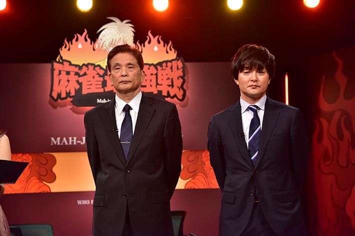 南場の独自戦略を語った瀬戸熊直樹(右)とそれに苦言を唱えた森山茂和(左)。