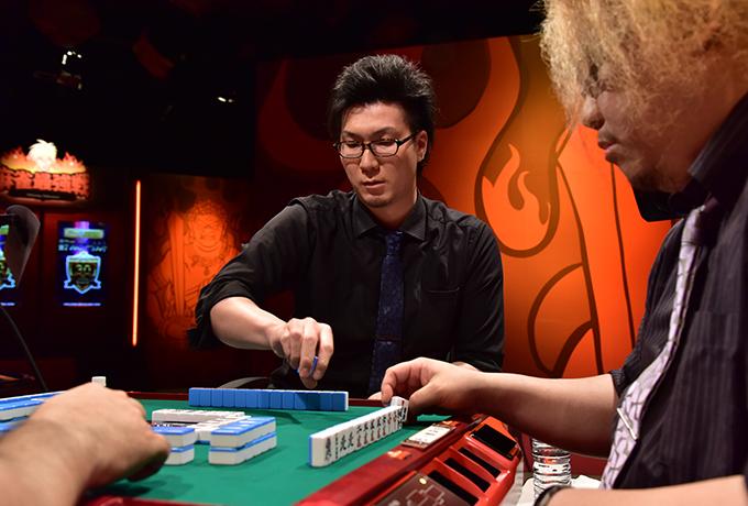 Mリーガー松本吉弘は無念の予選敗退。