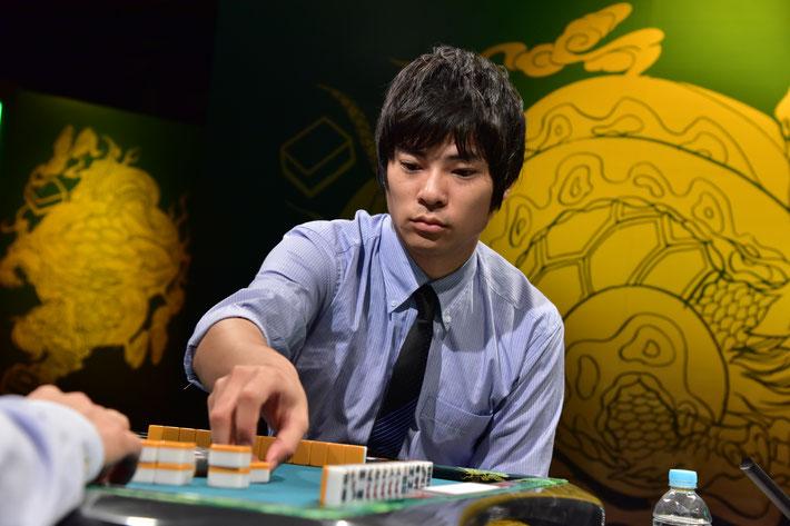 4年ぶりに決勝の舞台に這い上がったがまたも敗れた山田学武。
