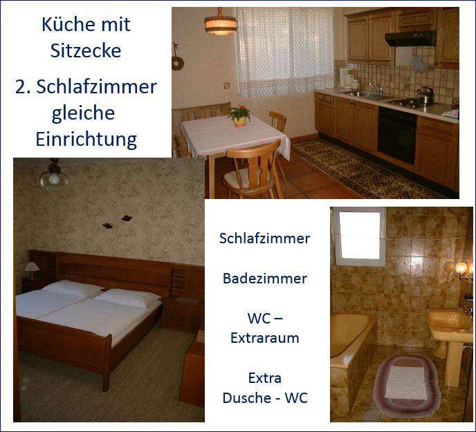 Große Wohnung für bis zu sechs Gäste