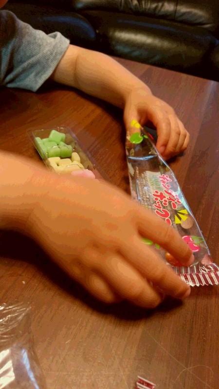駄菓子の写真