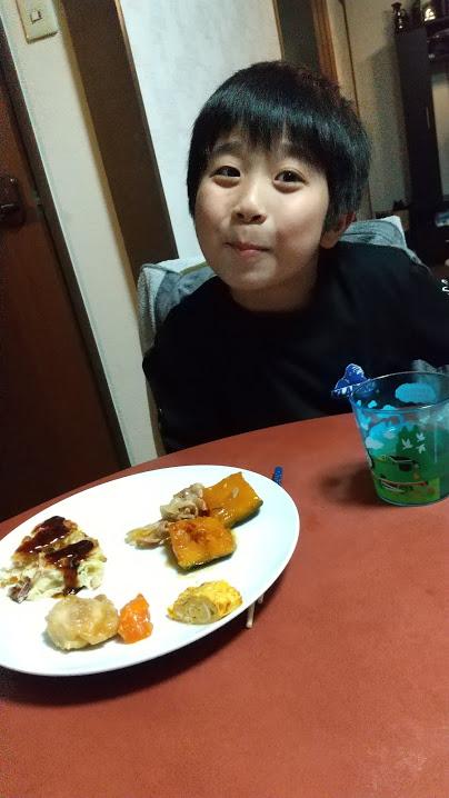 晩御飯の写真