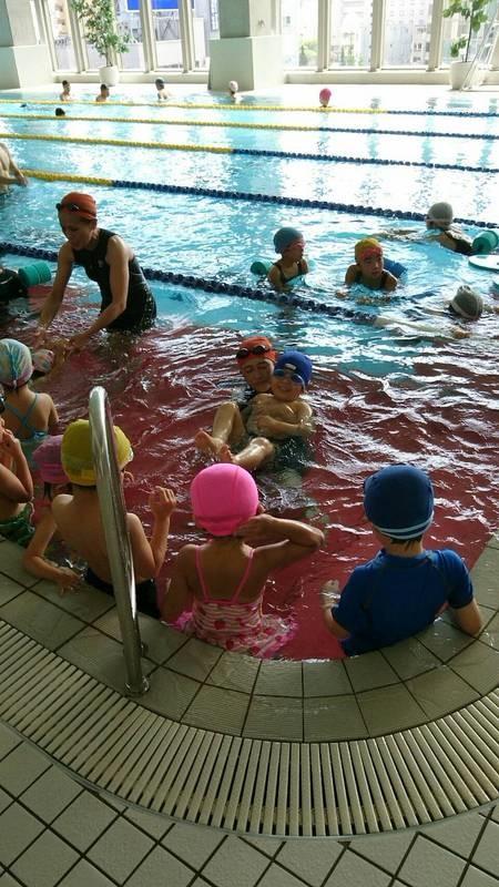 水泳教室の写真