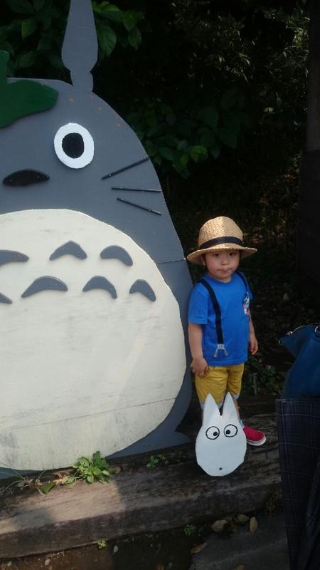 トトロと子供