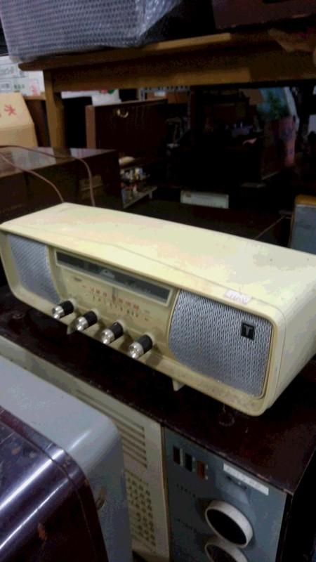 ラジオの処分品写真