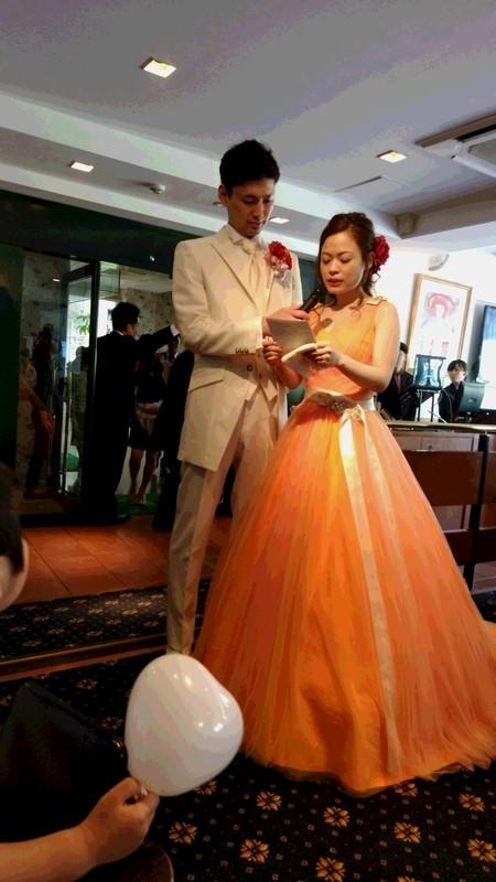 不用品のエイトの社長の親戚の結婚式の写真