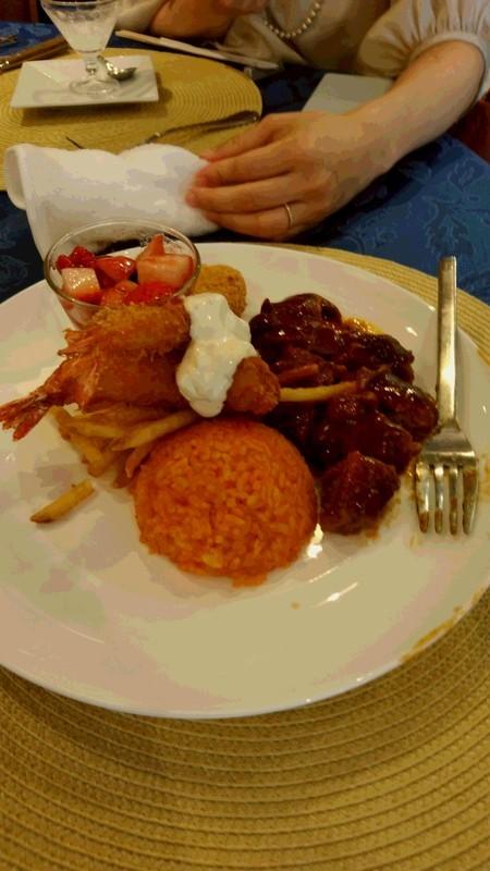 結婚式での子供用の食事写真