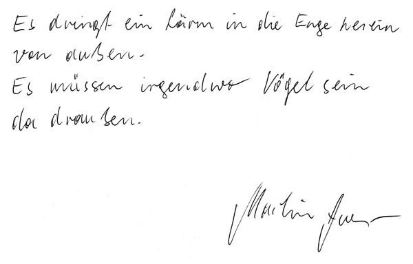 Martin Auer Literaturkreis Schloß Neulengbach Podium