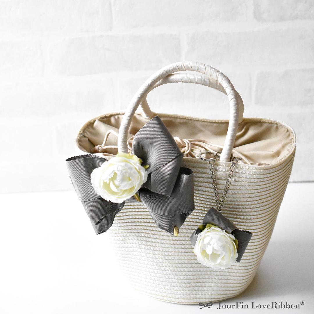 LoveRibbon FlowerBasket Bag