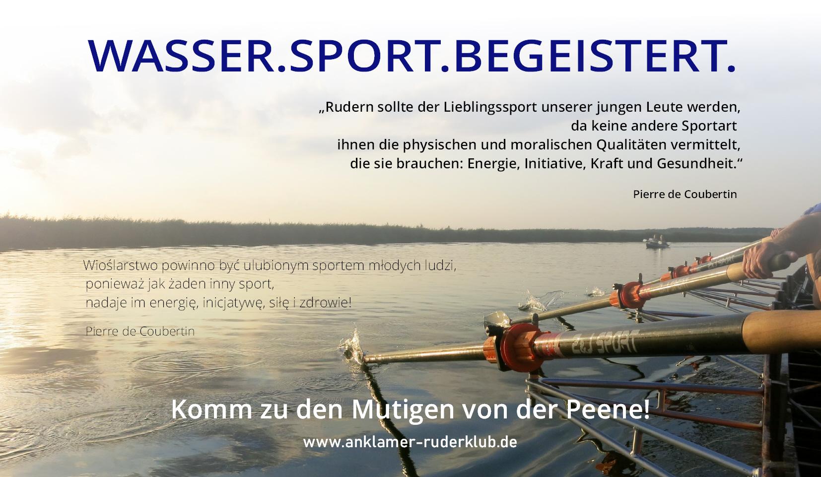 Gesundheitssport Rudern – neue Kurse in Anklam