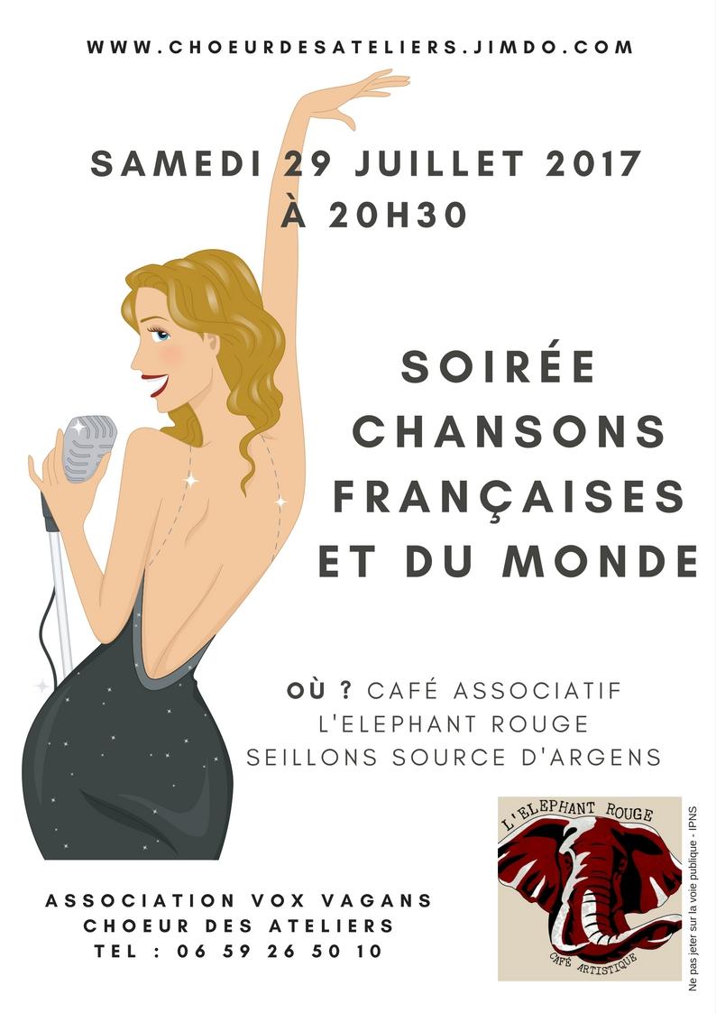chanson française, cabaret, jazz