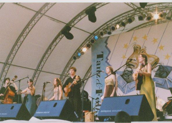 concert au Festival de Rudolstadt en Allemagne Lisa Magrini