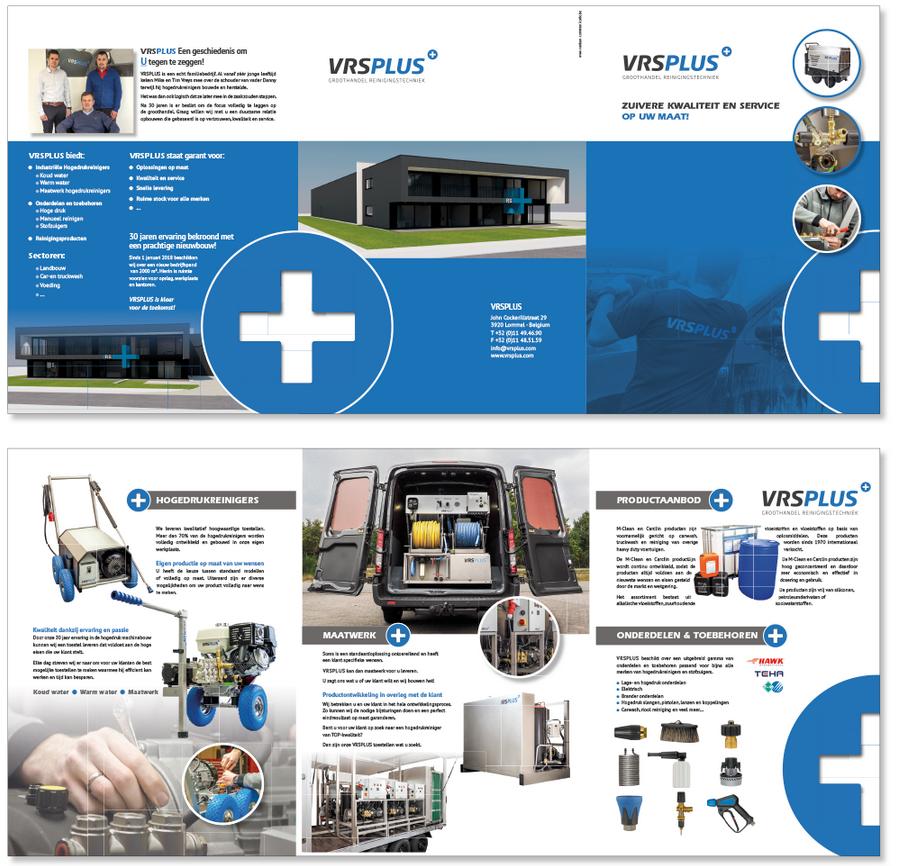 Van Bun Communicatie & Vormgeving - Grafische ontwerp - Lommel - Infomap VRS Plus
