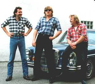 Green River Band, Charly Braun, Herman Dunkel, Andy Pass