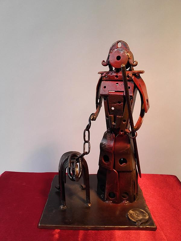 Femme Samouraï 43 cm - 8 kg