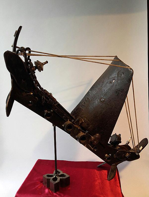 Le voilier de l'espace 57 cm -32 kg