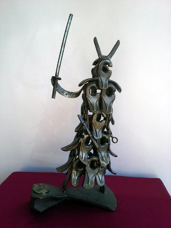 Samouraï en coupe 55 cm - 8 kg