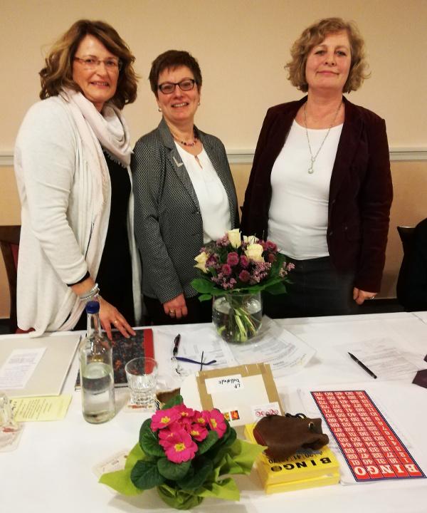 Vielen Dank an Petra Thode für 10 Jahre Vorstandsarbeit!
