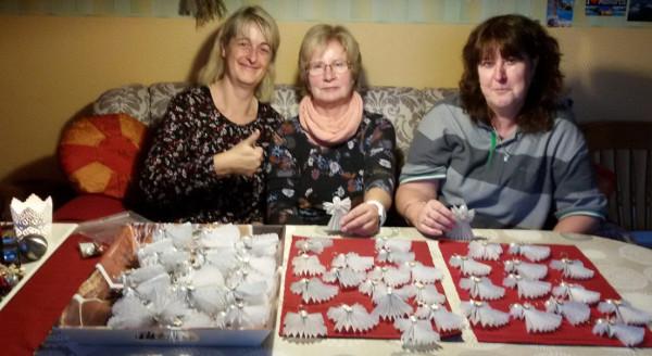 Basteln für Weihnachtsfeier