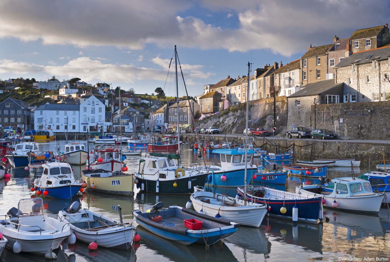Mevagissey village, South Cornish Coast, Cornwall