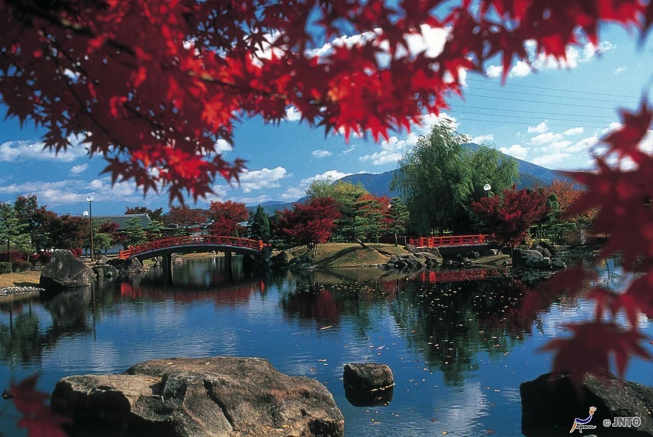 Murasaki Shikibu Park, Fukui, Honshu