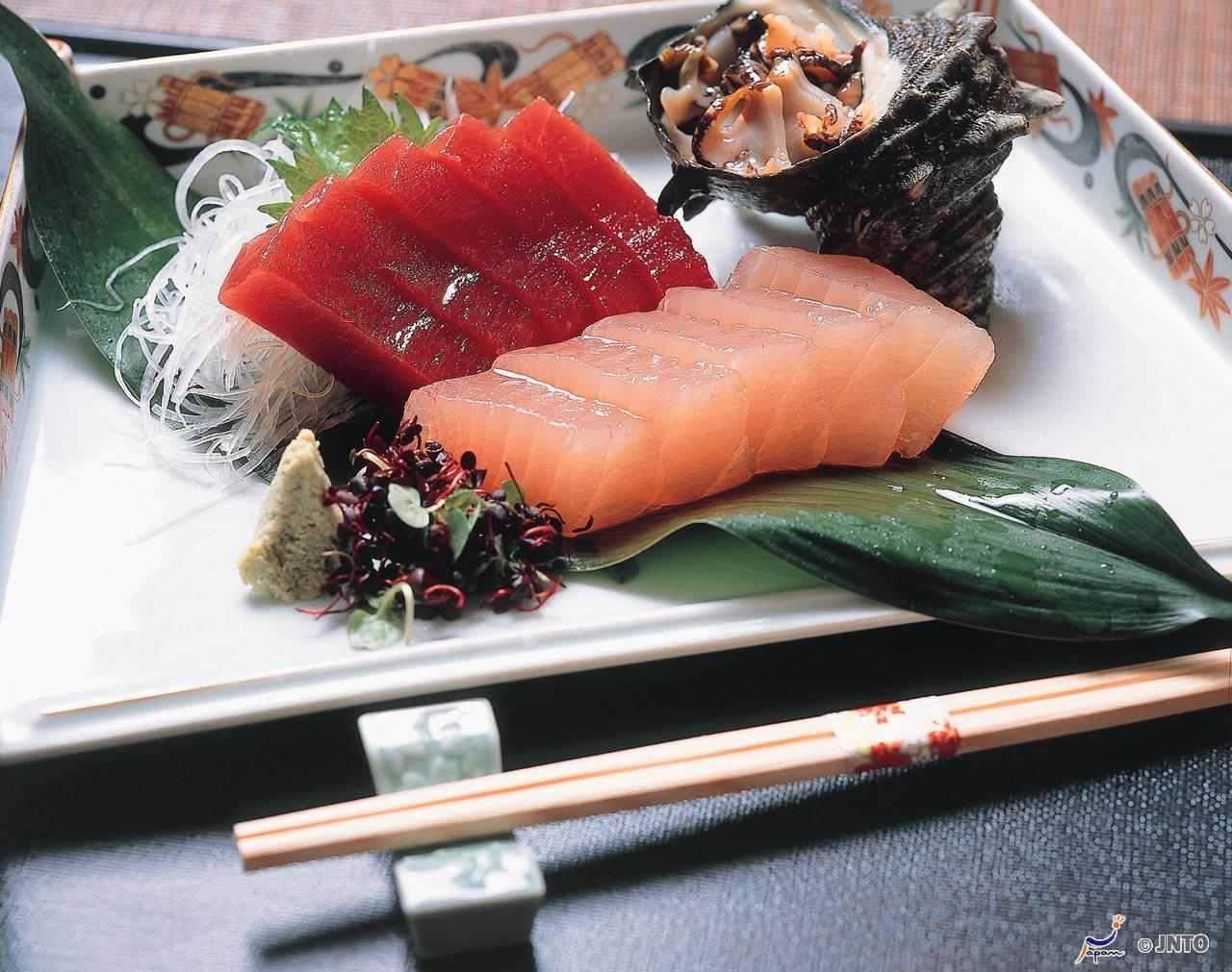 Thunfisch (Maguro) Sashimi