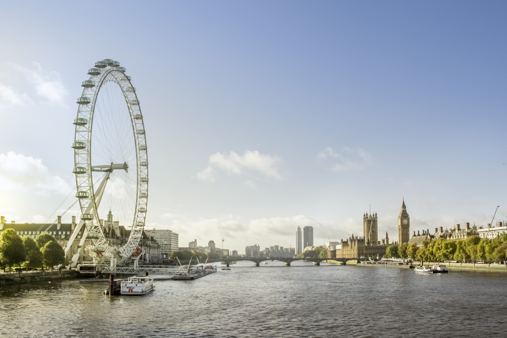 London Eye und Big Ben, London