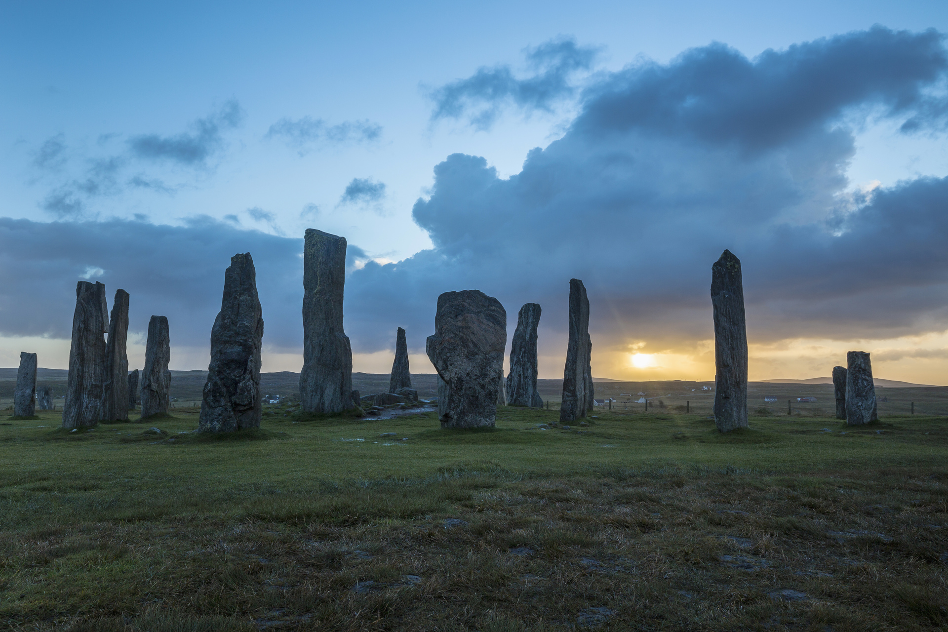 Callanish, Isle of Lewis, äussere Hebriden
