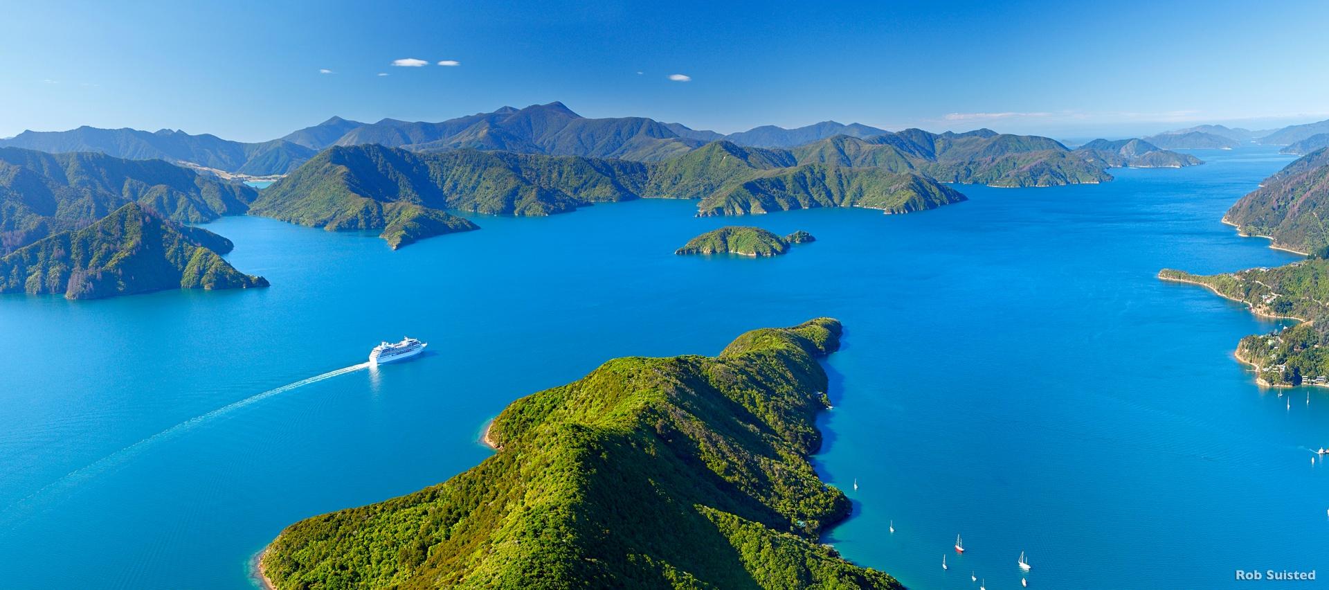 Marlborough Sound, Südinsel © Rob Suisted