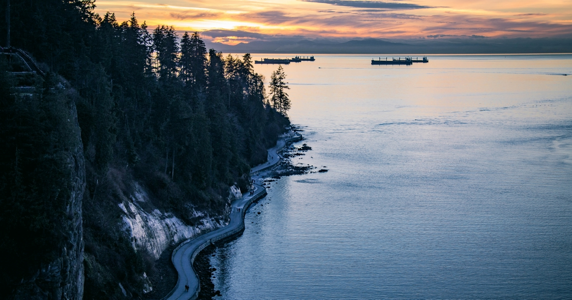 Vancouver Seawall, Stanley Park, BC