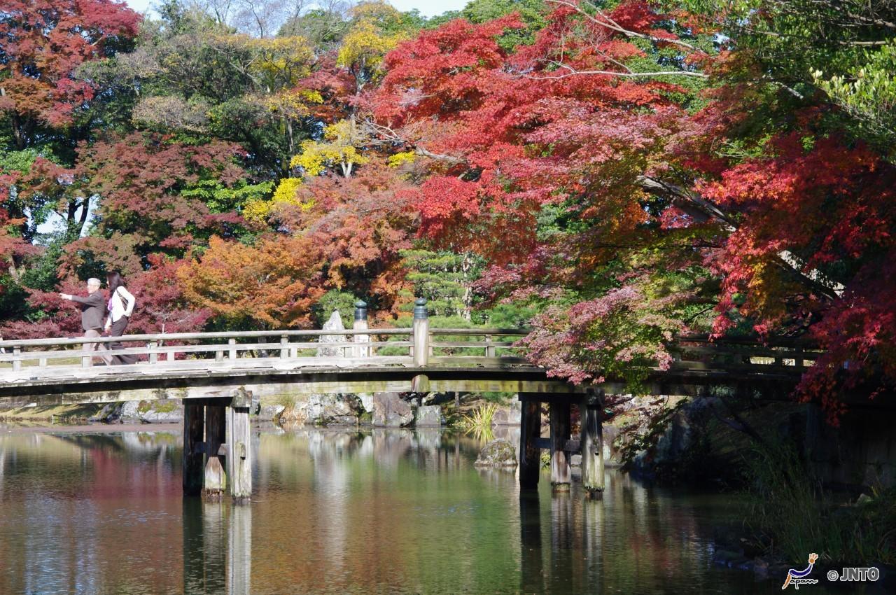Genkyuen Garden, Hikone, Honshu