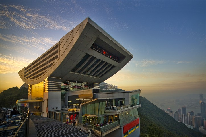 Peak Tower, Victoria Peak, Hongkong Island