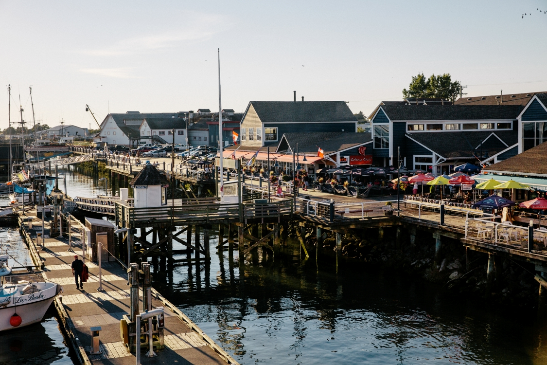 Restaurants, Brauereien und Bars im Steveston Village, Richmond