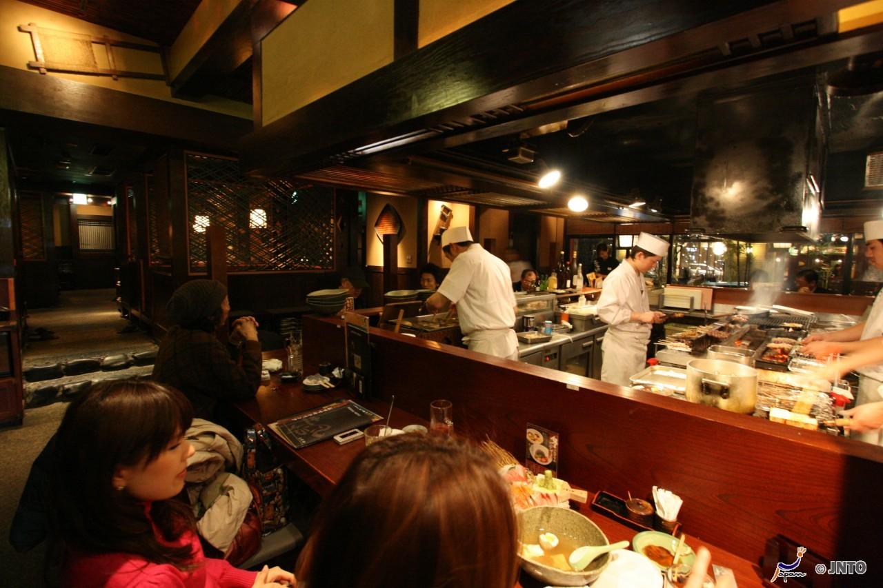 Izakaya, ein typisches japanisches Pub