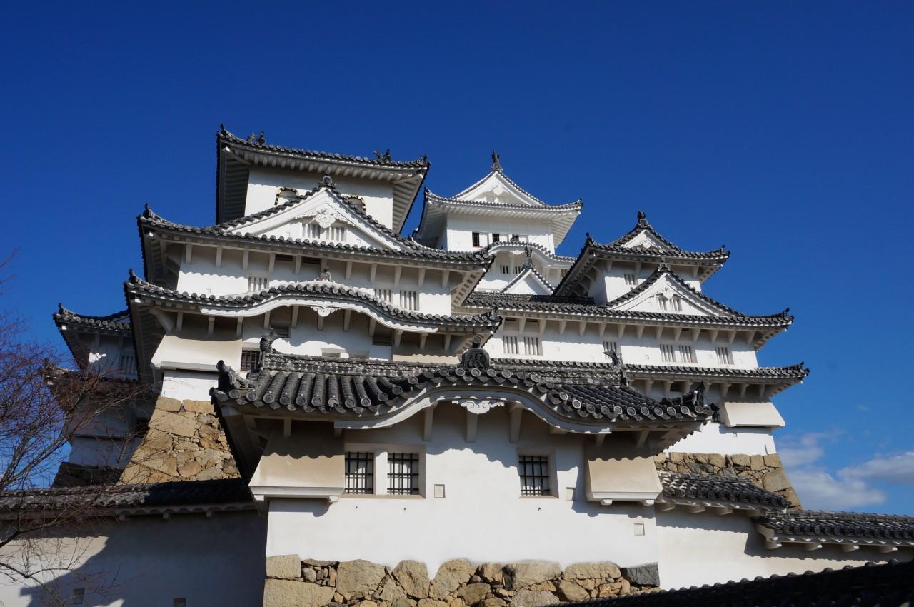 Himeji Castle aus dem 17 Jh. , Honshu