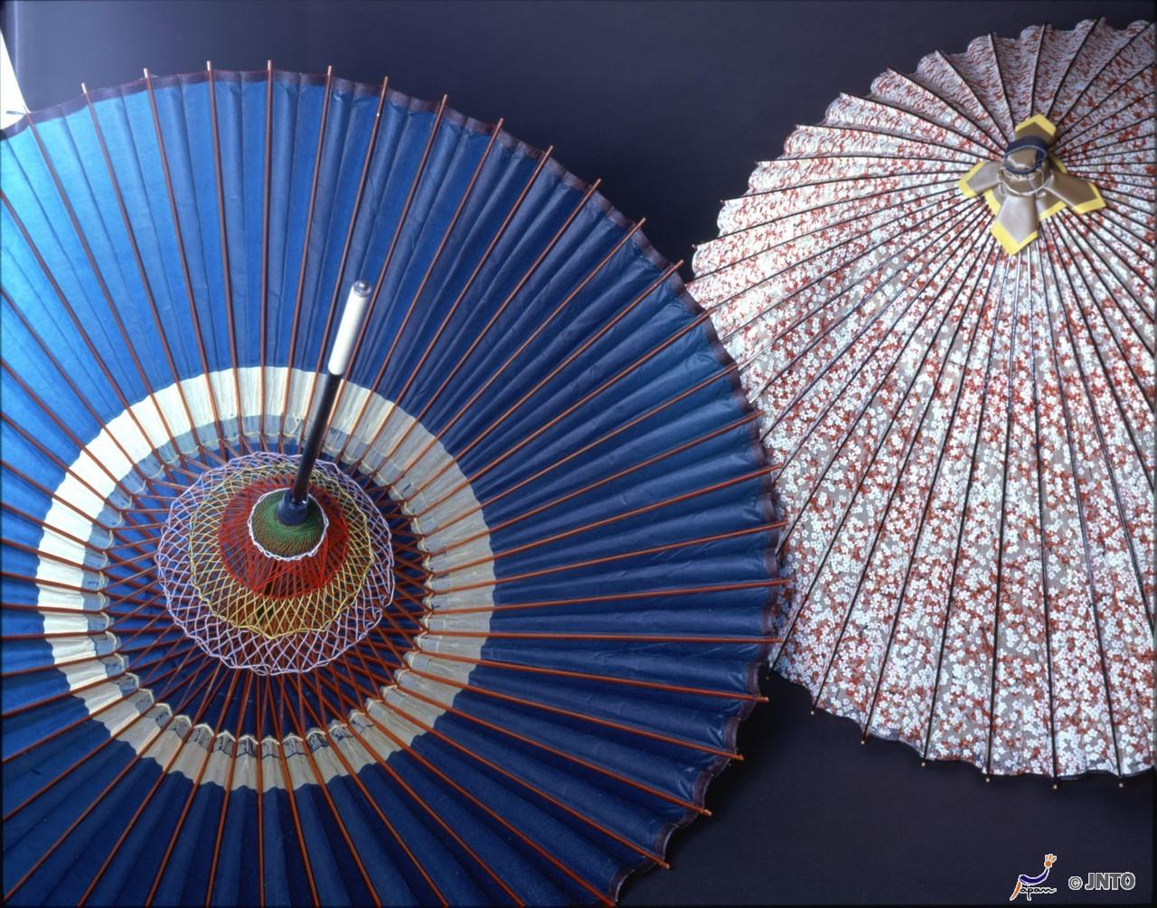 Japanische Sonnenschirme