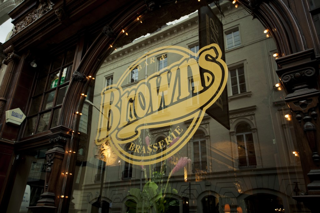 Brown's Restaurant an der St Martin's Lane