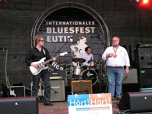 Foto:G.Harder - Eric's Blues Band - Bluesfestival Eutin 22.05.2009