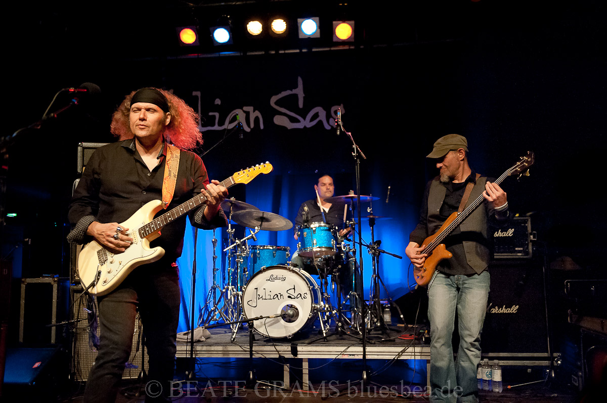 "Julian Sas & Band ""Stand Your Ground Tour 2019"" - 22.09.2019 Kiel Räucherei"