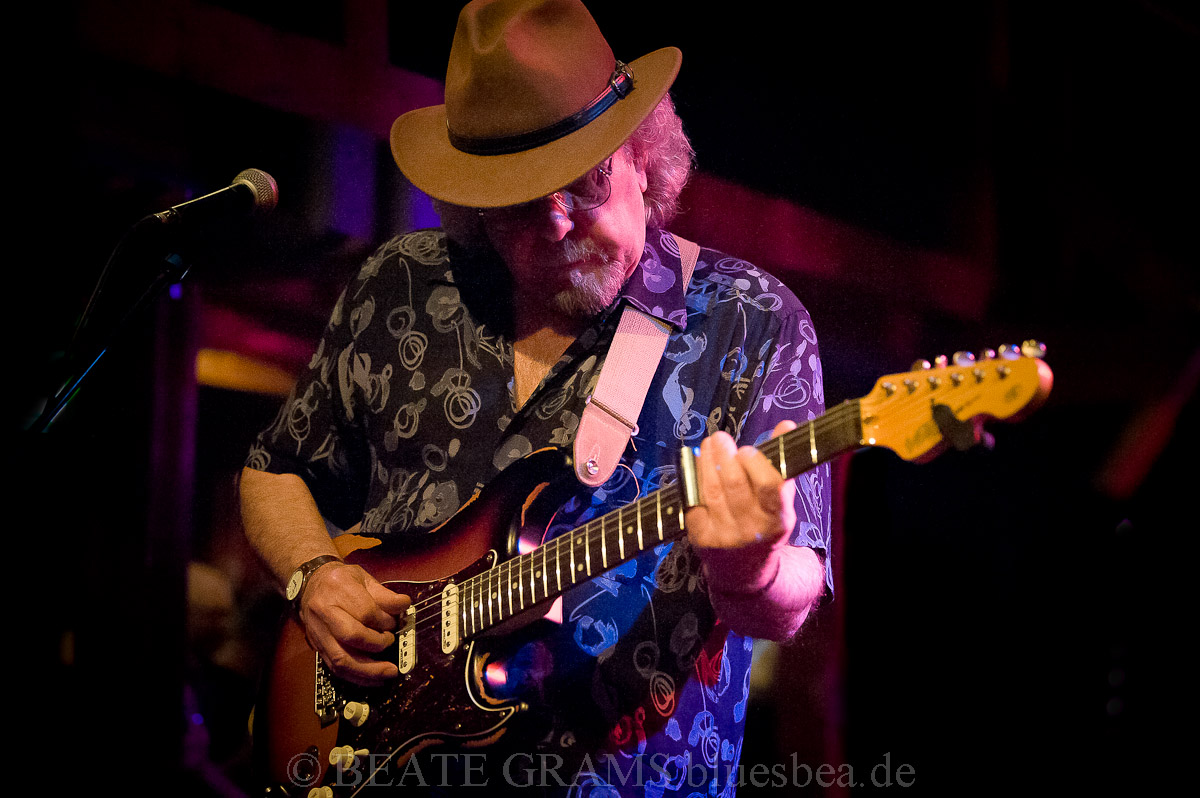 Johnnie Guitar Williamson's Blue Swamp All Star Band - Int. Kieler Bluesfestival, Räucherei