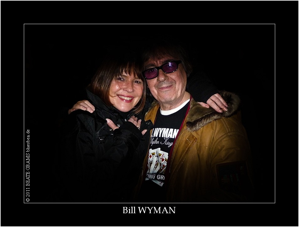"01-2011 ""Take care pretty woman"" Bill Wyman (Rolling Stones)"