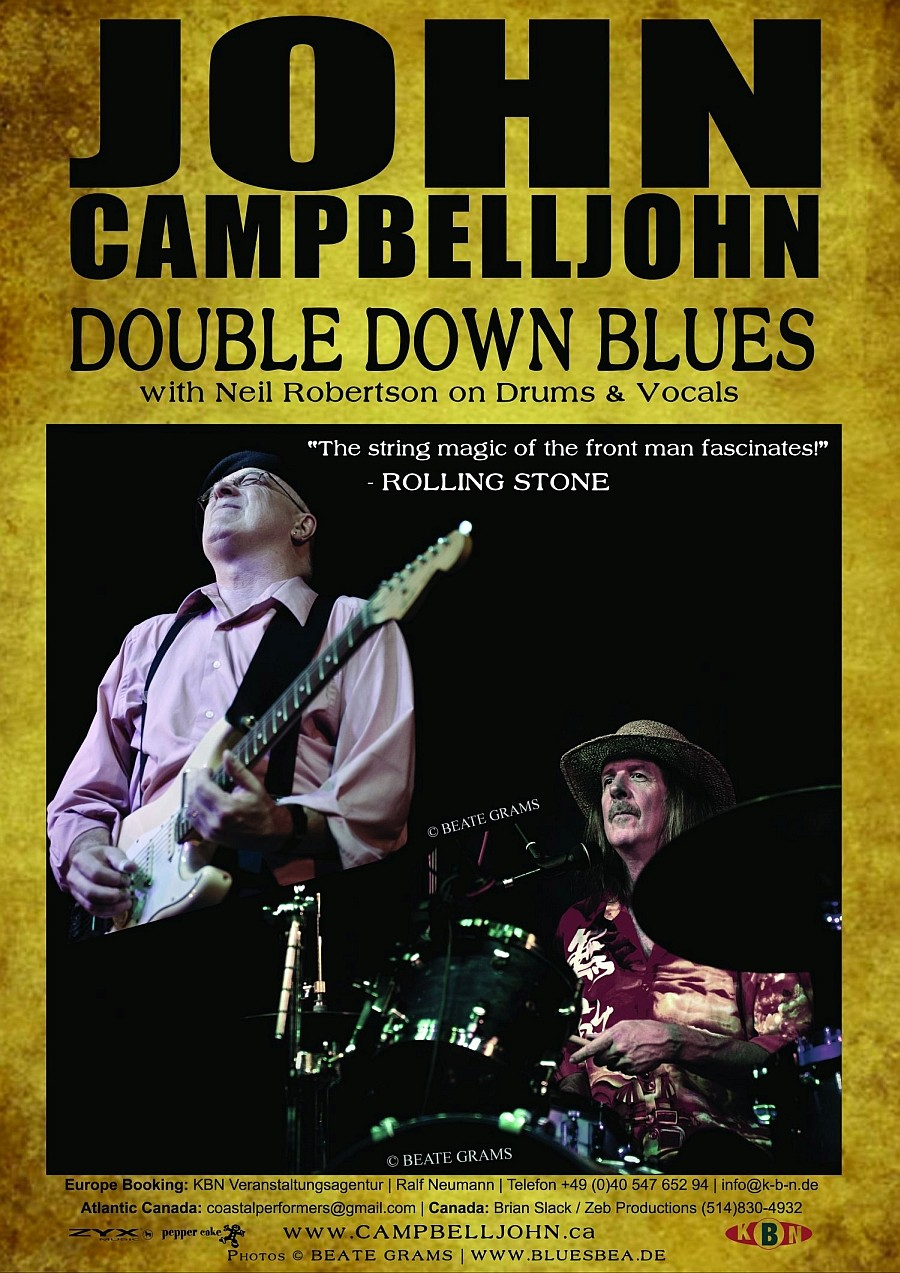 John Campbelljohn Double Down Blues with Neil Robertson