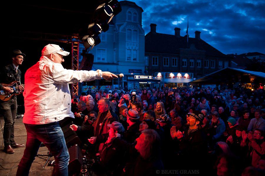 BluesBaltica Marktplatz Eutin 2016 - Georg Schroeter - Kalle Reuter