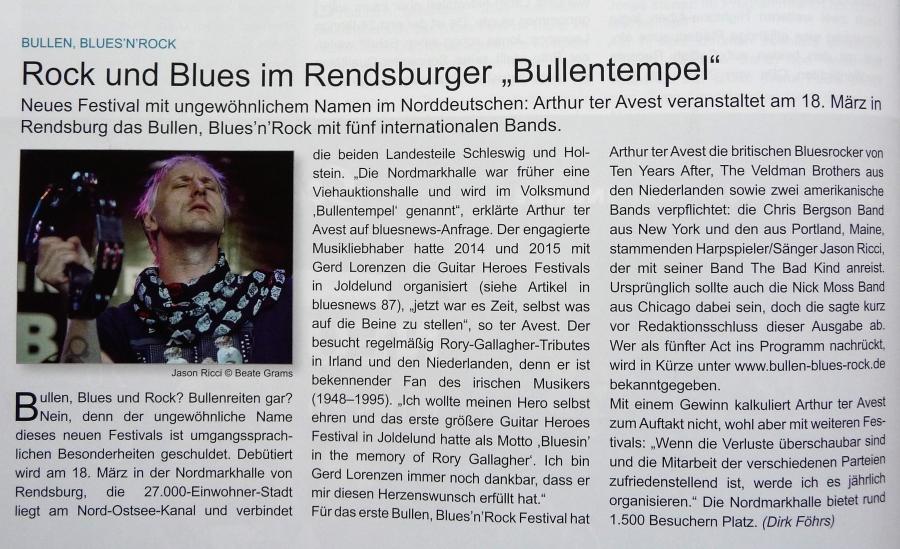 Ausgabe bluesnews 88/2012