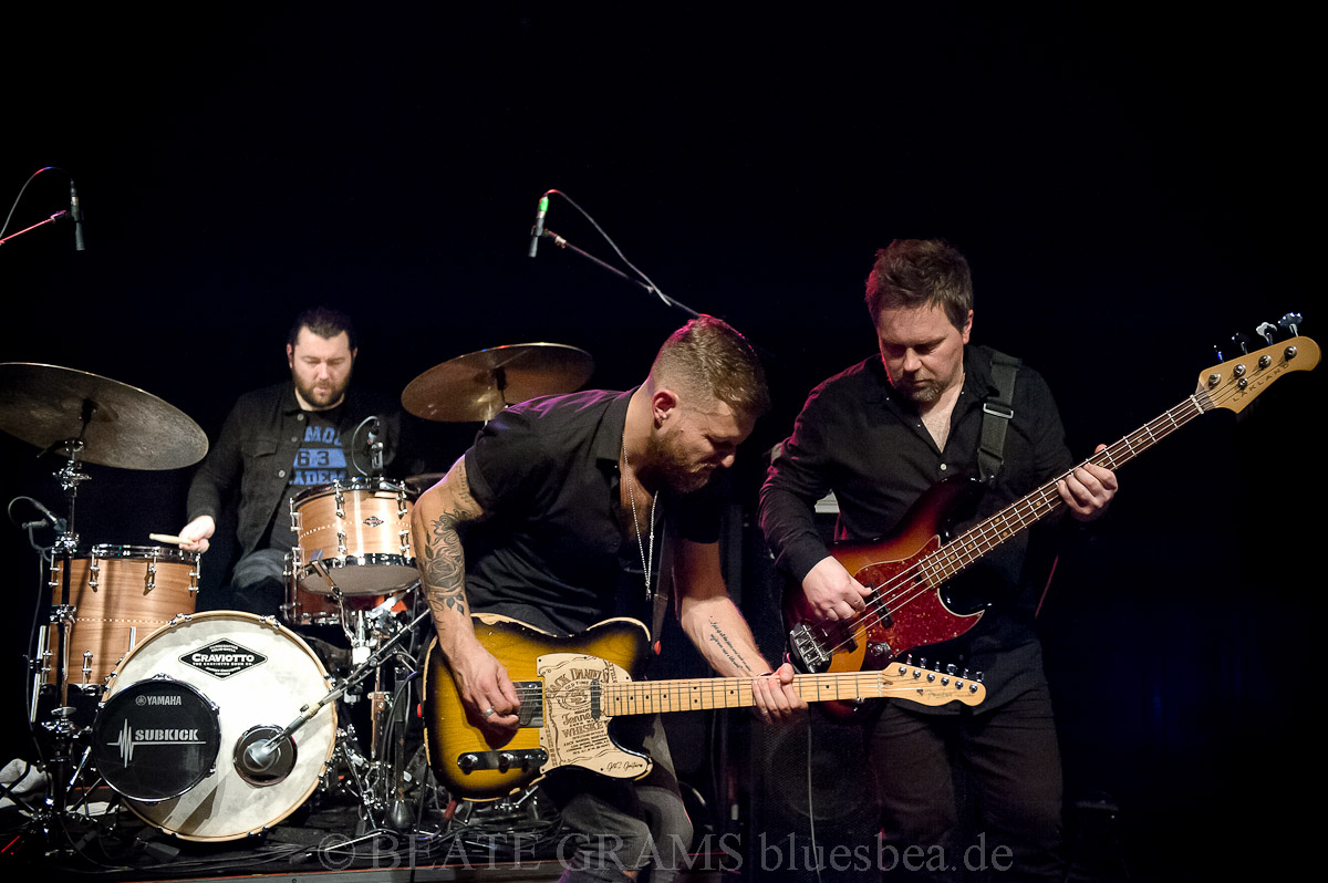 Ben Poole & Band - 15.11.2019 Räucherei Kiel