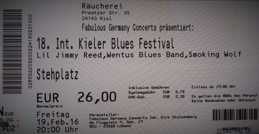 18. Int. Kieler Blues Festival