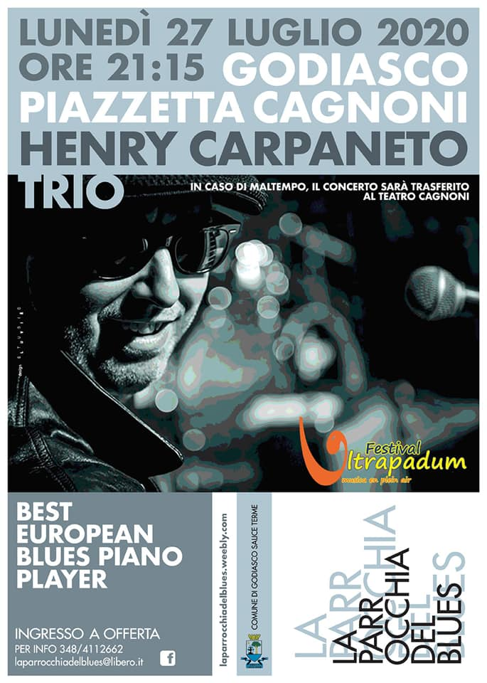 Henry Carpaneto Trio 03/2020